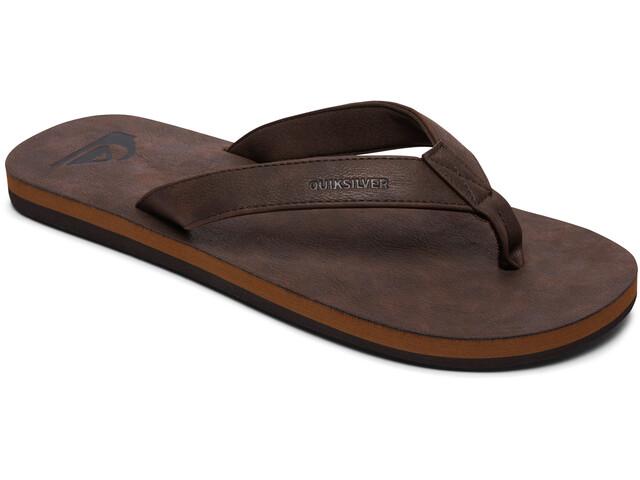 Quiksilver Molokai Nubuck Sandals Herren demitasse/solid